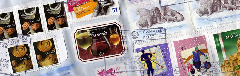 Canadian stamps price guide and values
